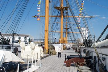 Portsmouth, UK - HMS Warrior